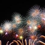 東北で一番早い花火大会は古都ひろさき花火の集いで1万発の動画あり