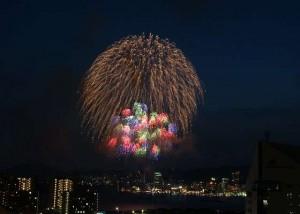 みなとこうべ海上花火大会はホテルを先行予約して優雅に観覧