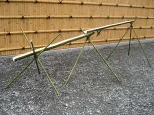 流しそうめんは竹を調達して自力で|無断は犯罪|作り方