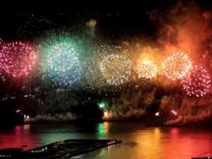 みなとこうべ海上花火大会をオリエンタルホテルの部屋から見るには