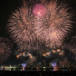 なにわ淀川花火大会2015はいつ?十三側と中津側どっちがお勧め?