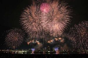 なにわ淀川花火大会2017はいつ?十三側と中津側どっちがお勧め?