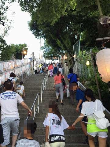 160629①hirano_gionsan_kaidan