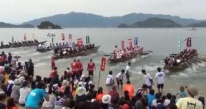 村上水軍を再現する因島水軍まつり|火まつりで花火、海まつりで小早レース