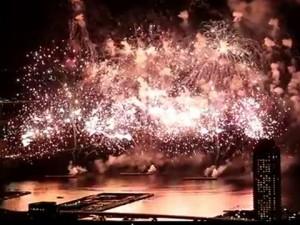 神戸の花火大会は場所取りナシの有料席で|企業協賛席|障害者優先エリア