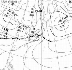 平年並みって?梅雨入り梅雨明けは普通いつ頃?誰が決める?北海道は梅雨が無い?