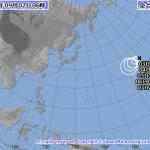 台風17号は元ハリケーン?越境台風12号|現況と進路予想【2015】