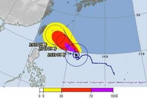 2015台風21号最新情報と進路予想|また先島諸島直撃?ヨーロッパと米軍予報