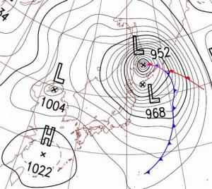 爆弾低気圧とは?台風と何が違う?進路予想とかしないの?
