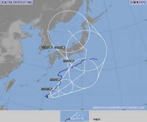 大型台風10号急激Uターン|最長寿台風?進路予想は本州直撃!2016年